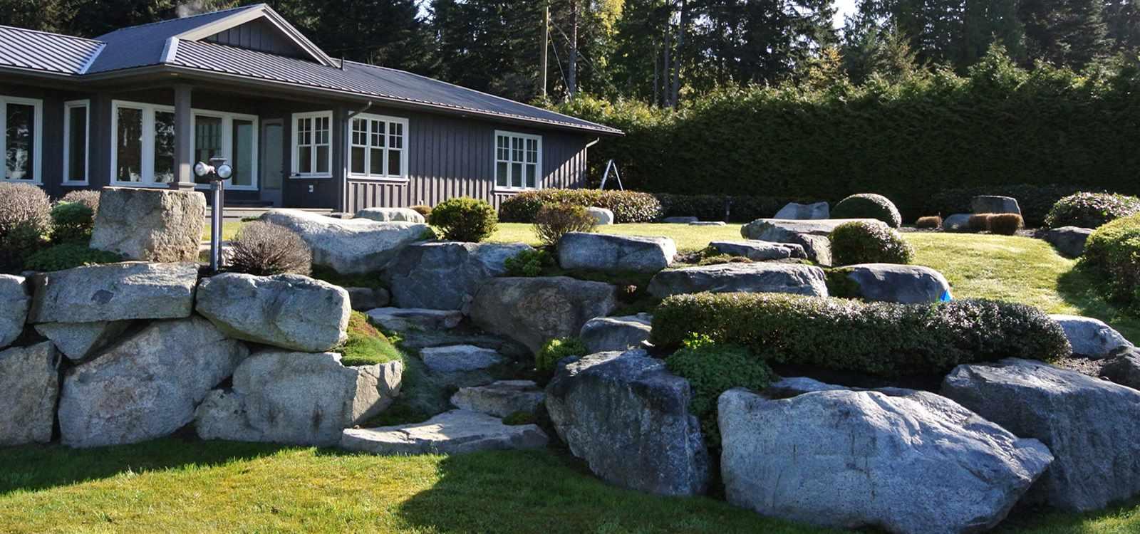 Sunshine coast bc landscape designers of fine spaces for Bc landscape architects